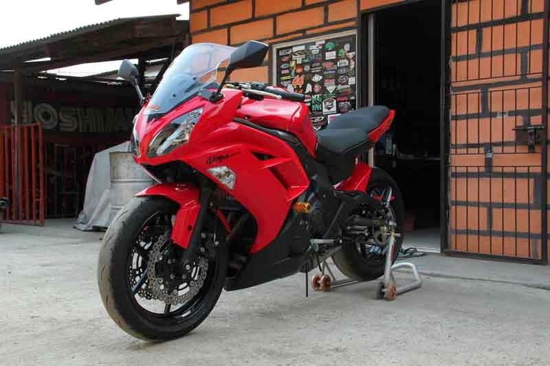 Kawasaki Ninja 650b tahun 2012