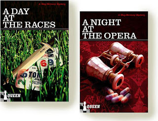 capas de A Day at the Races e A Night at the Opera, por Queen