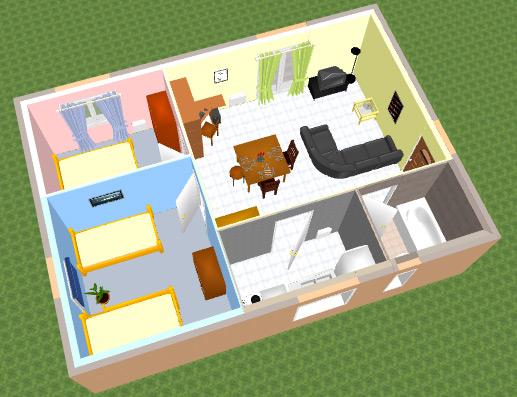 Vie-Pratique: Modifier Son Interieur Avec Sweet Home 3D