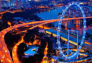 Singapore Flyer, Kuda Besi Terbang yang Menakjubkan