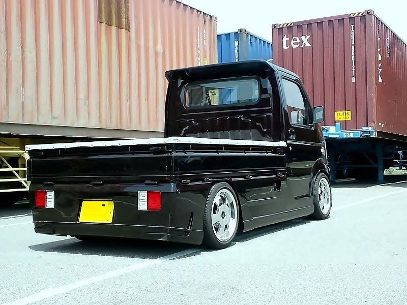 Suzuki Carry, tuning, mała ciężarówka, kei car, truck, zdjęcia, jdm, japoński samochód