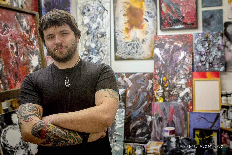 Artist Zac Franzoni Barrel-dEM