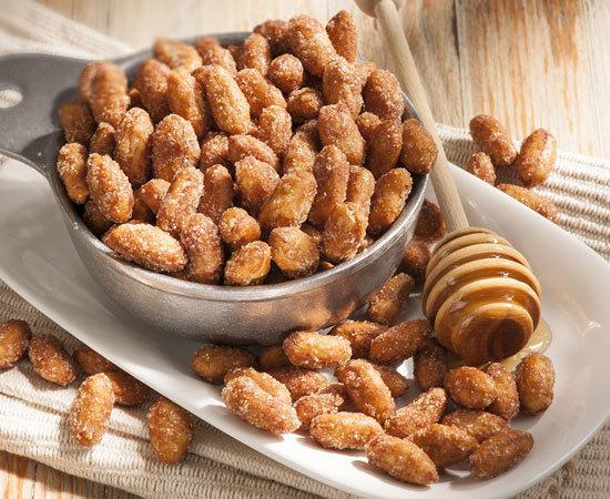 Easy honey roasted peanuts recipe