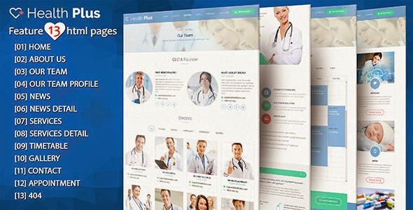 Responsive Health and Clinic Template
