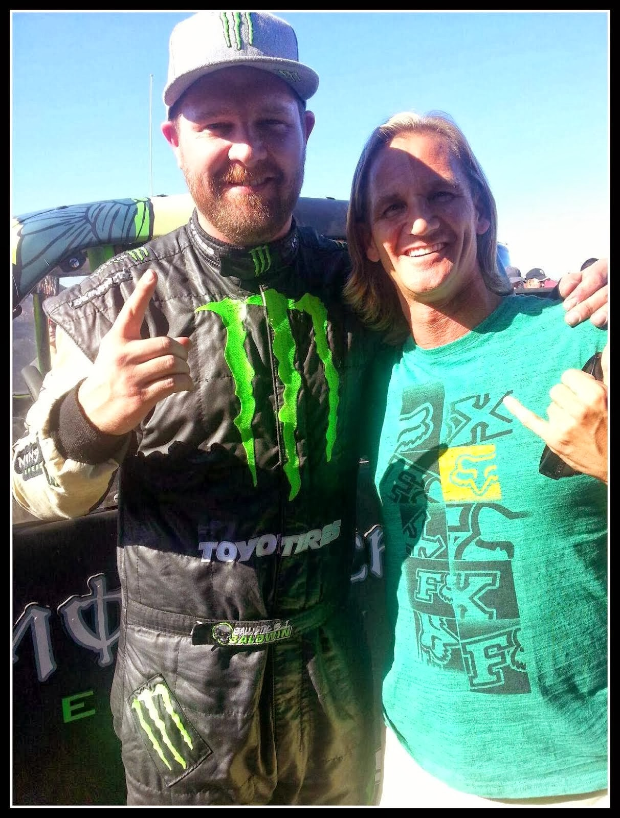 Ballistic B.J. Baldwin, Monster Energy Driver