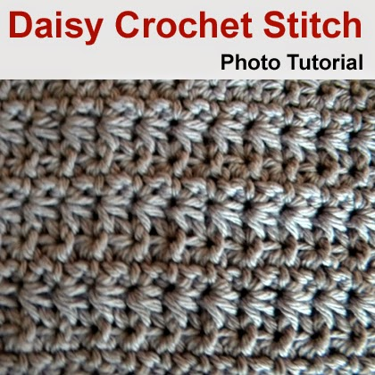 Daisy Crochet Stitch