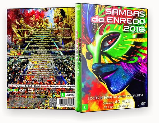 Download Samba de Enredo 2016 DVD-R IC Samba De Enredo 2016 DVD R