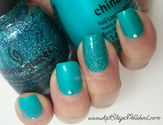 China Glaze Atlantis | China Glaze Turned Up Turquoise