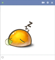 Sleeping Emoticon For Facebook