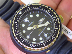 SEIKO DIVER PROFESSIONAL 600m - SEIKO GOLDEN TUNA 600m - QUARTZ CAL 7549 7009