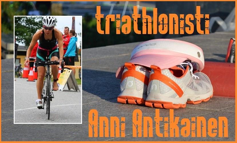 Triathlonisti Anni Antikainen