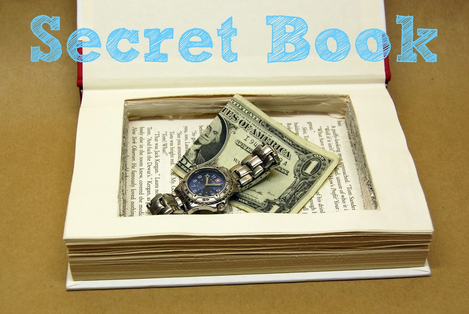 Book the secret hero