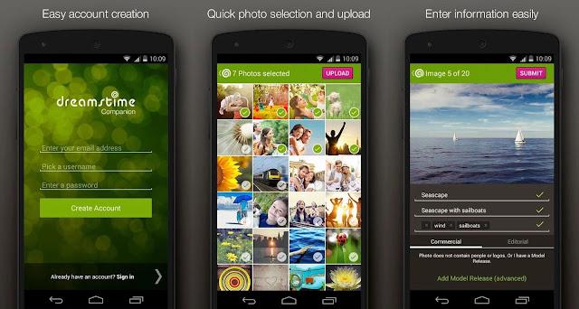 تطبيق Dreamstime لبيع الصور الملتقطة بهاتفك أندرويد مجاناً