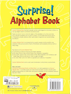 Surprise! English Alphabet Book