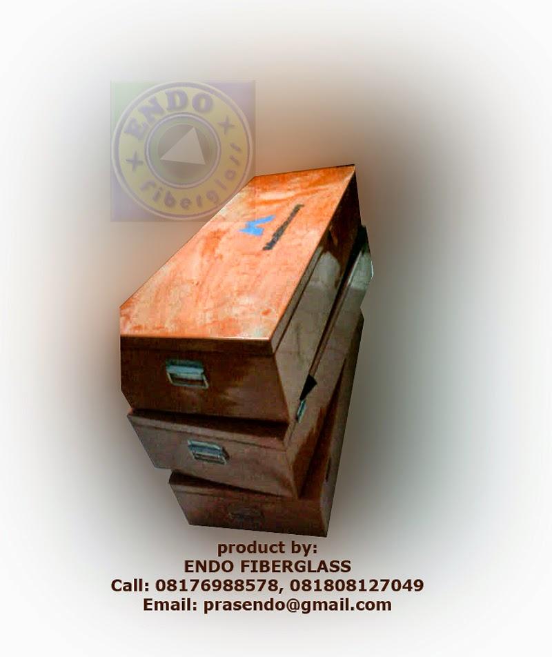life jacket box fiber murah