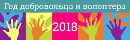 2018 - ГОД ДОБРОВОЛЬЦА (ВОЛОНТЁРА)