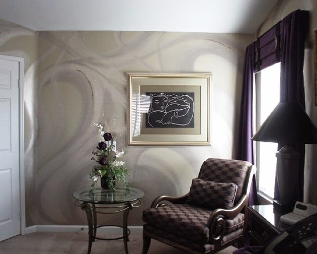 Interior decorating wall painting ideas for Painting interior designs