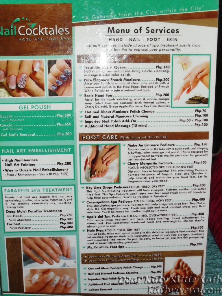 Nail Polish Price List
