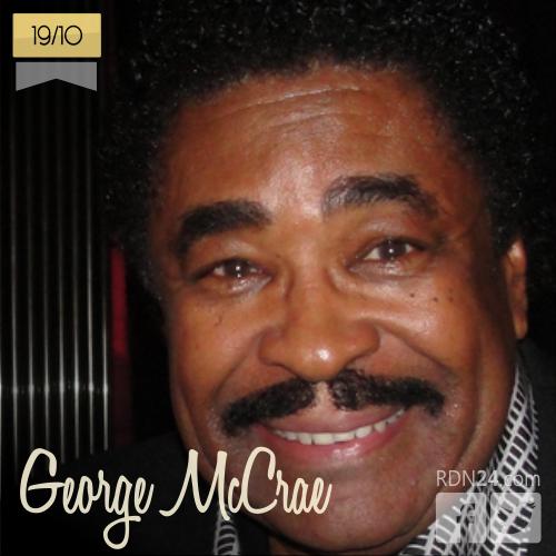19 de octubre | George McCrae - @George_McCrae | Info + vídeos
