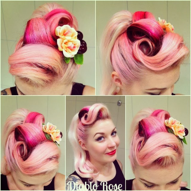 How to Do Rockabilly Pin-up Hairstyles  Victory Rolls, Rockabilly and ...