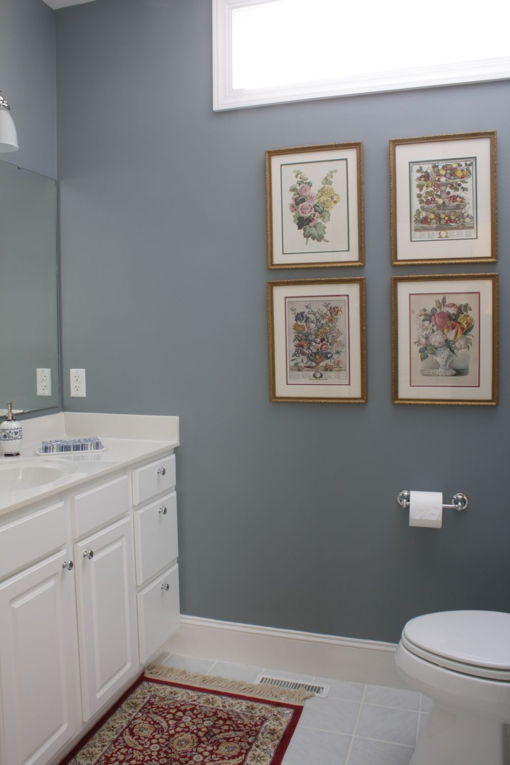 Bathroom Paint Ideas Lowes : The comforts of home guest bath so far