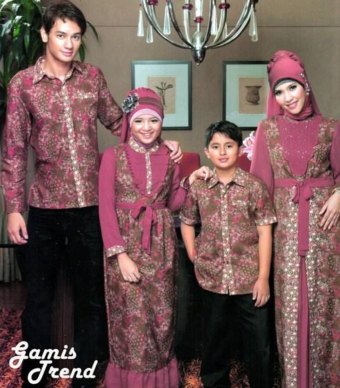 model%2Bbaju%2BBatik%2BMuslim%2BAnak%2BPerempuan%2Bdan%2BLaki laki contoh baju batik muslim anak perempuan dan laki laki batik,Baju Anak Anak Batik
