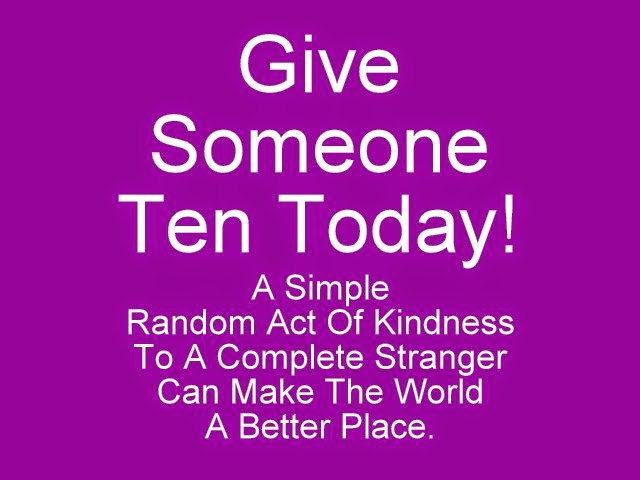 Link To Give Someone Ten Today