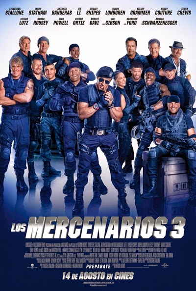 The Expendables 3, Los mercenarios 3 (Los Indestructibles 3) (2014) online, Accion,