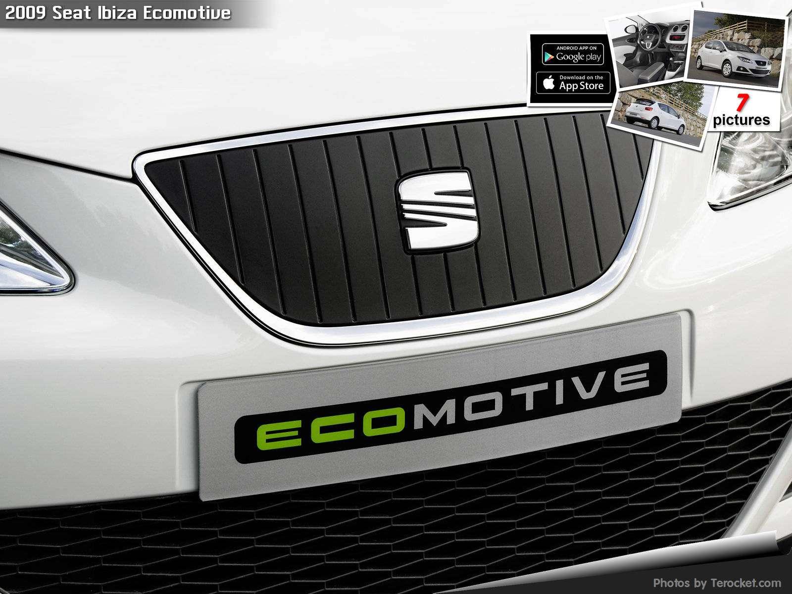 Hình ảnh xe ô tô Seat Ibiza Ecomotive 2009 & nội ngoại thất