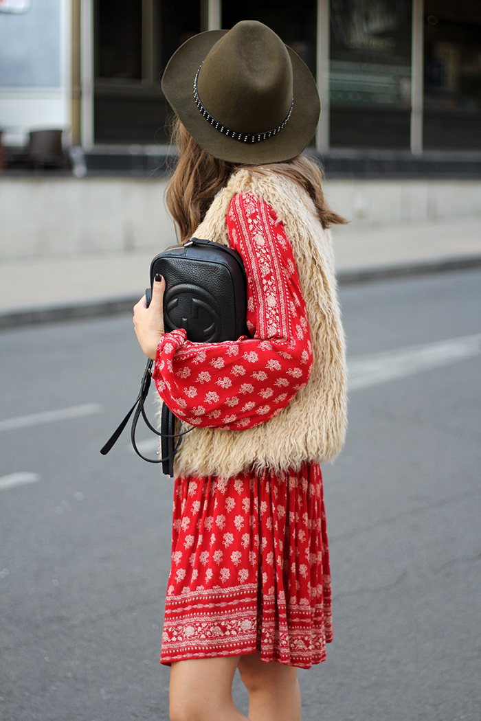 Fashion And Style Printed Dress