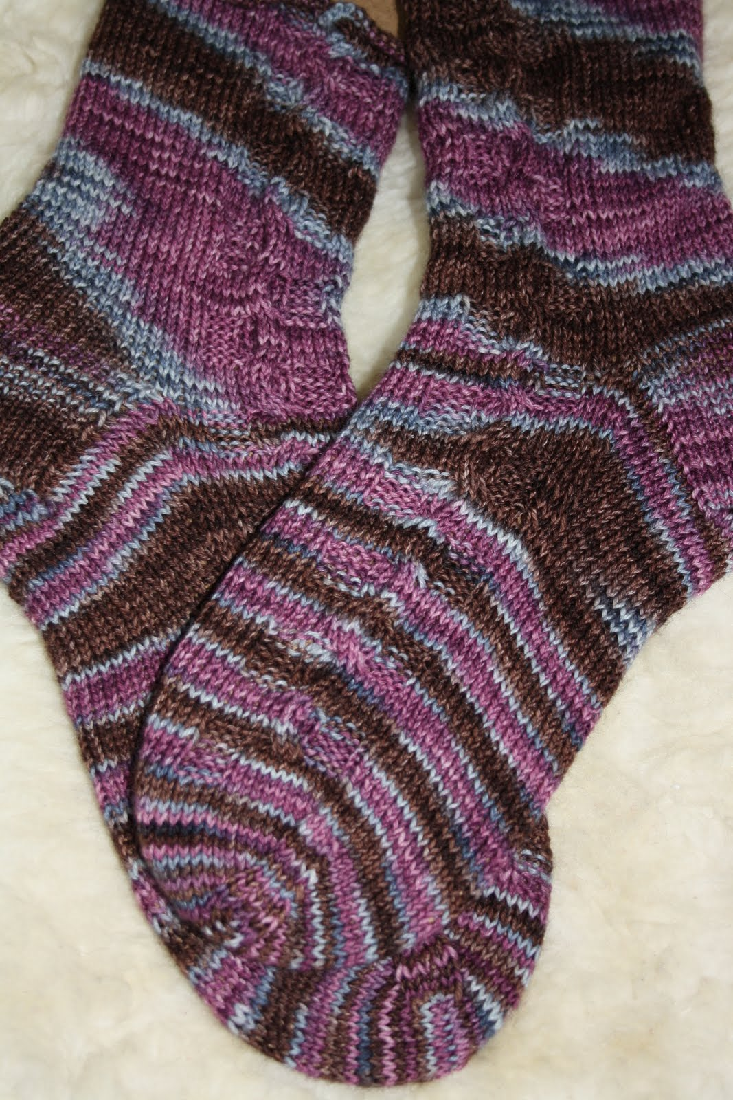 Socken 16 2011 der fluss des lebens