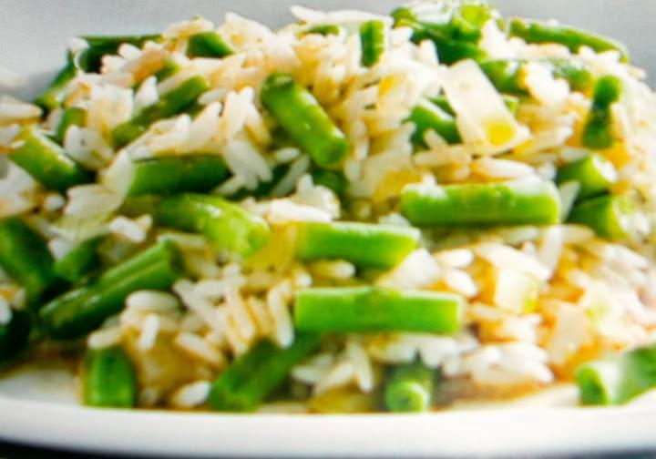 Cocina latina y algo m s arroz con habichuelas verdes jud as verdes - Tiempo coccion judias verdes ...
