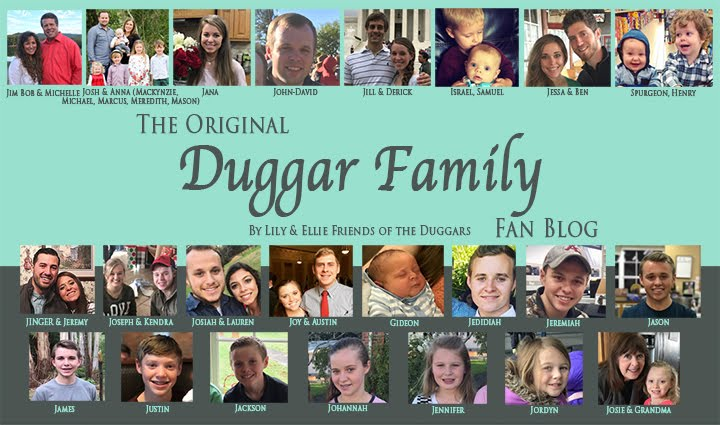 Duggar Family Blog: Updates Pictures Jim Bob Michelle Vuolo Forsyth Counting On 19 Kids