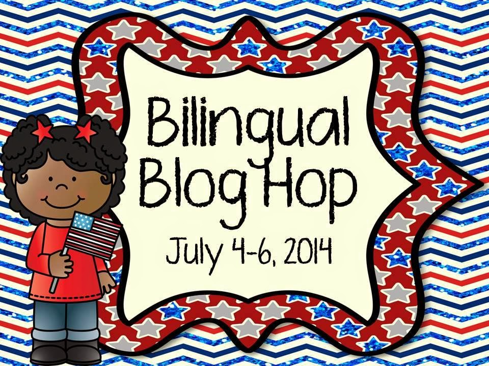 http://www.maestrasandoval.com/2014/06/4th-of-july-bilingual-blog-hop.html