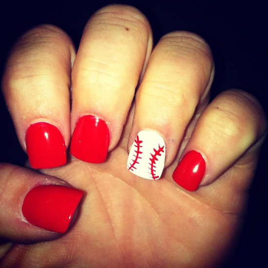 softball nail designs hd image - Softball Nail Designs - Nails Gallery
