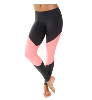 Style Athletics Onzie Activewear TheTrack Legging Pink Black