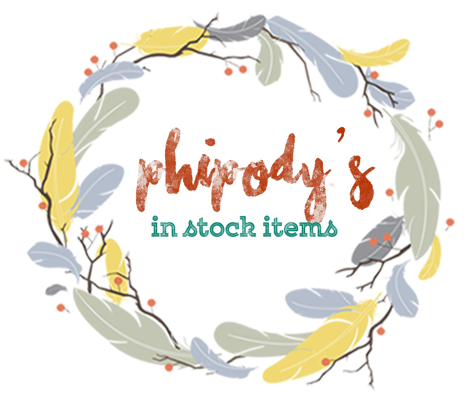 Phipody's Instock Items