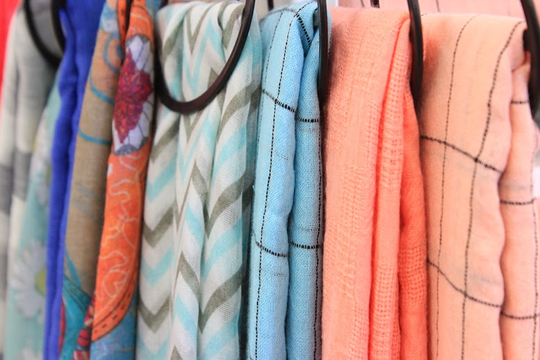 Choose from a selection of beautiful fashion scarves.