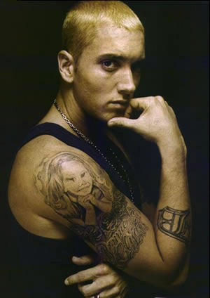 eminem tattoo