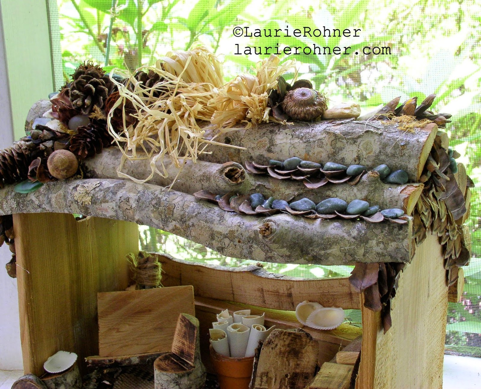Buy fairy houses at Laurie Rohner Studio