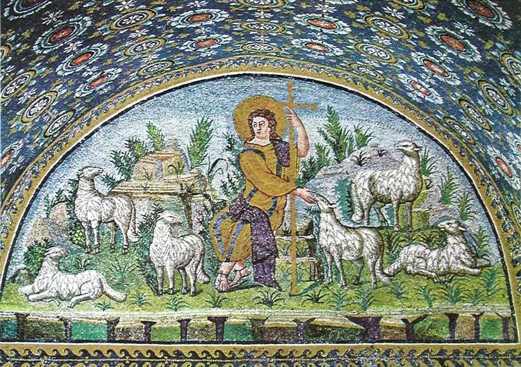 El Logos en el Arte Universal: Yo soy el Buen Pastor