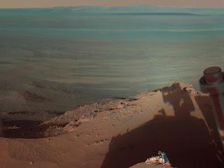 Кратер Индевор (Endeavour)на Марсе