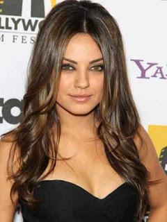 Mila Kunis Cute Hairstyle