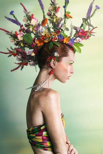Floral Fruity And Veggie Hairstyles The Haircut Web