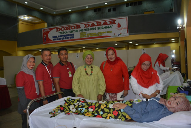 Pertamina Pendopo Gelar Aksi Donor Darah
