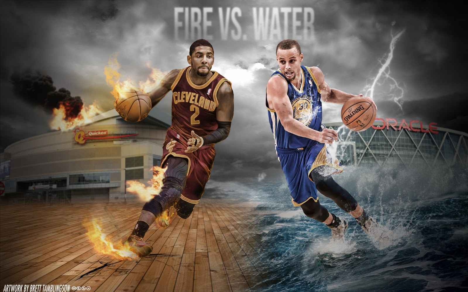 Kyrie Irving and Stephen Curry Wallpapers