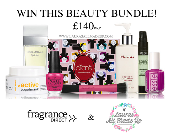 giveway, blog giveaway, beauty blog giveaway, beauty blogger, uk beauty blog, uk beauty blogger, bblogger, uk blogs, win, competition, fragrance direct competition, lauras all made up blog giveaway