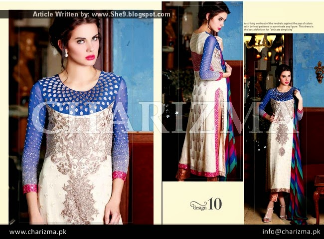 Charizma 2015 Luxury Semi Stitched Collection