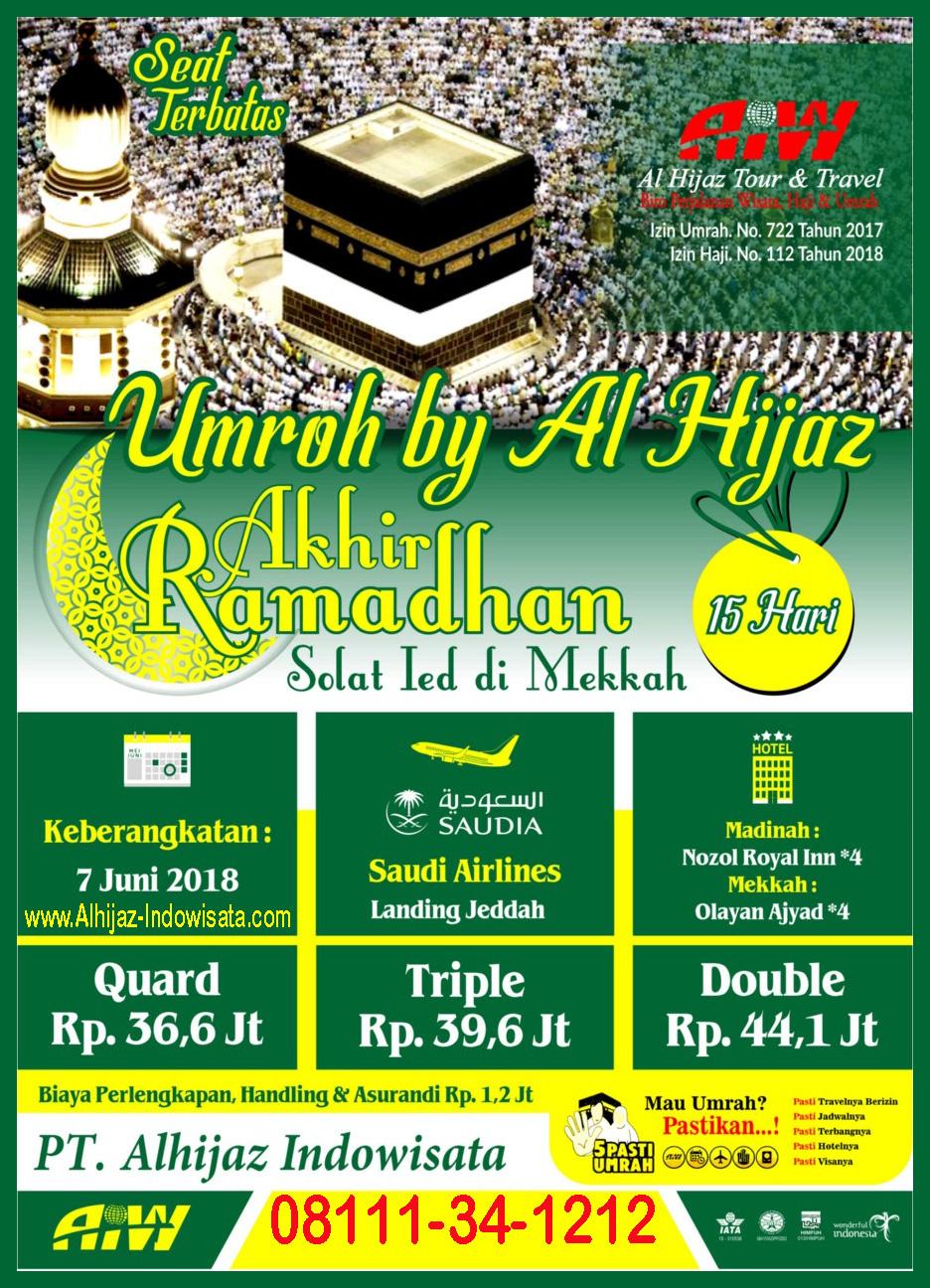 Paket Umroh Akhir Ramadhan