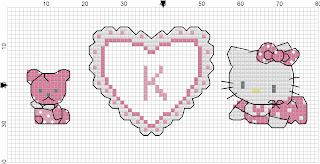 Hello Kitty's heart